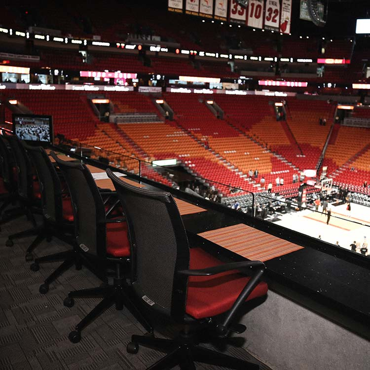 Miami HEAT Premium Seating Miami Heat