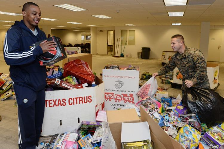 Toys For Tots Donation Tuesday Dec 8 Denver Nuggets