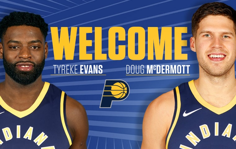 Pacers Sign Tyreke Evans Doug Mcdermott Indiana Pacers