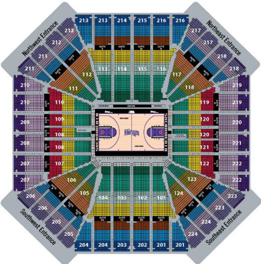 Golden state warriors seating chart oracle arena 1 for concertstop