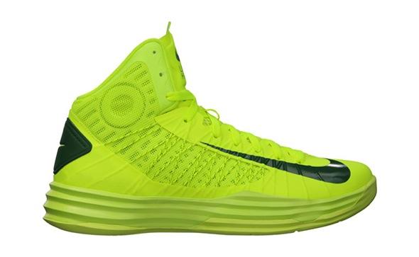 Nike Hyperdunk Brazil Volt/Gorge Green