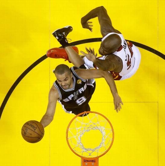 Tony Parker Finales NBA 2013
