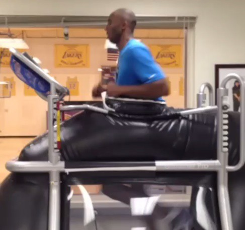 Kobe Bryant treadmill