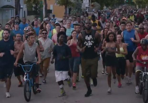 LeBron James Nike anuncio