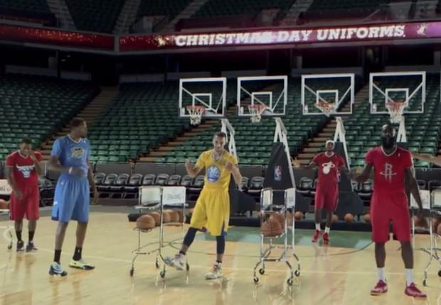 Uniformes Navidad 2013 NBA