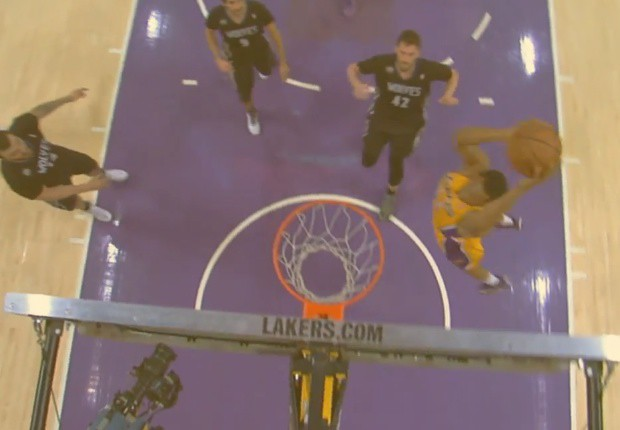 Lakers Wolves