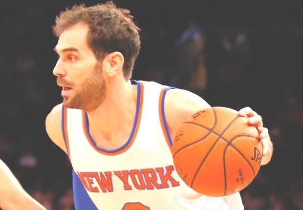 Jose Calderon Knicks
