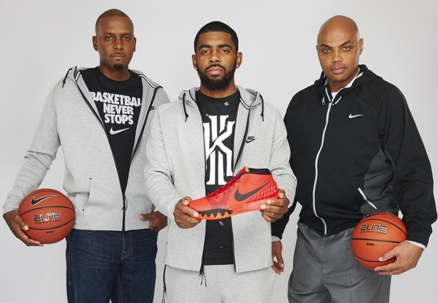 Kyrie Irving Charles Barkle y Penny Hardaway