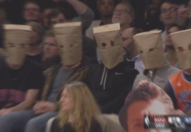 Knicks aficionados bolsas