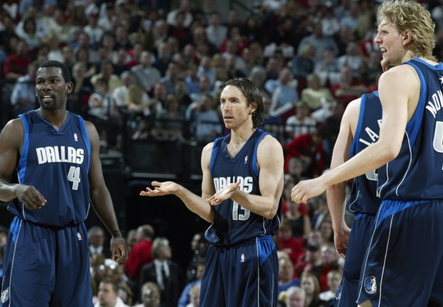 Steve Nash Mavericks