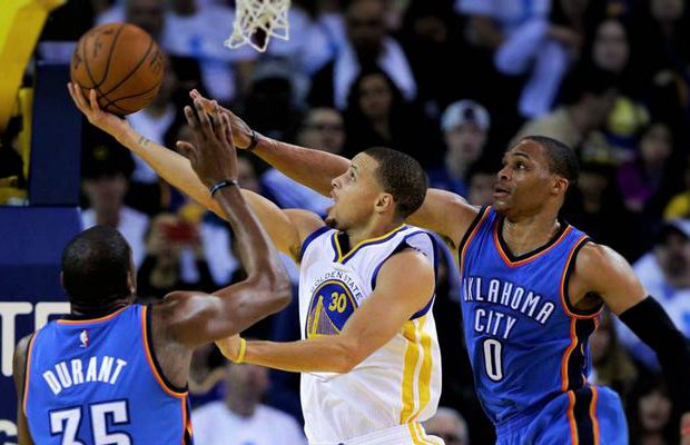 Curry Durant Westbrook