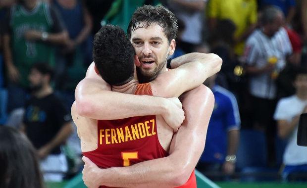 Gasol y Rudy bronce Rio 2016