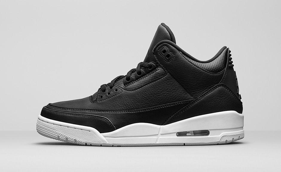 "Air Jordan 3 Retro ""Black/White"""