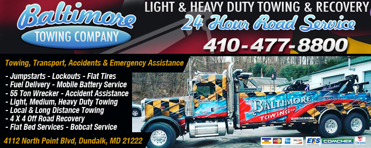 Towing / Recovery QUEENSTOWN, MD, United States