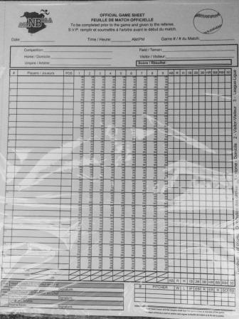 baseball scoresheet - Intoanysearch