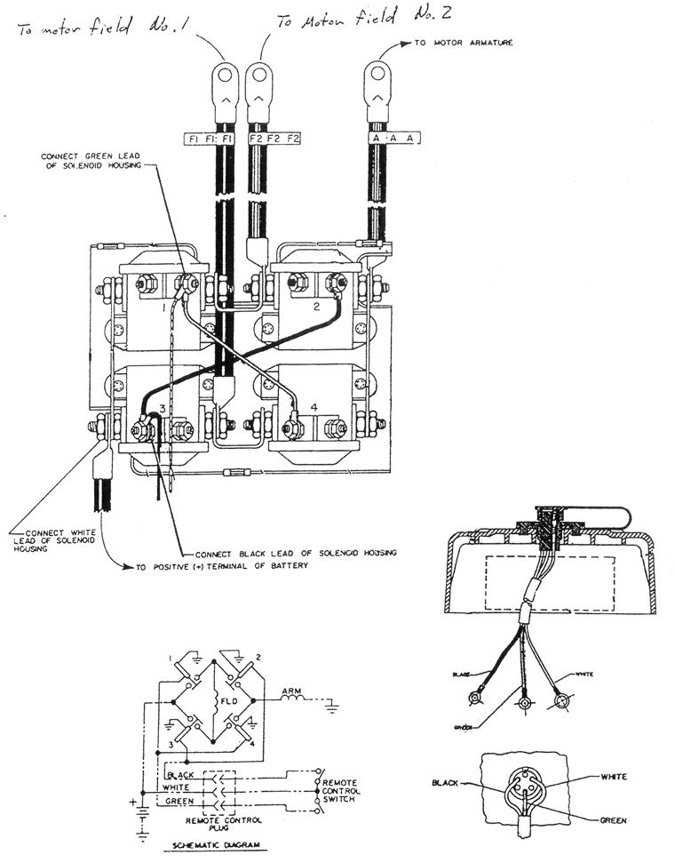 wiring up a warn winch