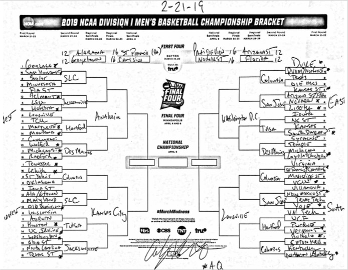 March Madness bracketology The ultimate guide NCAA