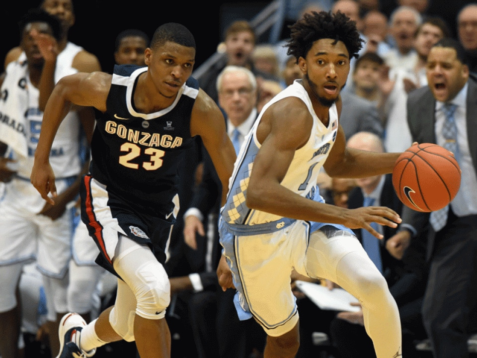 College Basketball Rankings North Carolina Surges