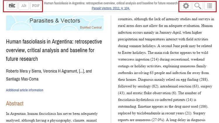 PMC Help - NCBI Bookshelf - running title scientific paper