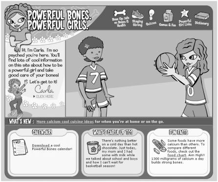 Figure 12-1, Powerful Bones Powerful Girls The National Bone