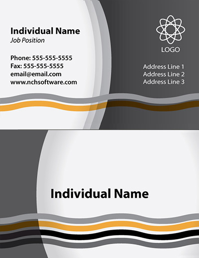 Free Business Card Templates for CardWorks Business Card Maker - Buisness Card Template
