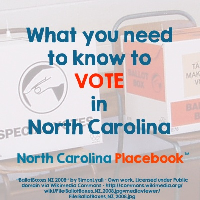 What You Need to Know to Vote in NC 400x400
