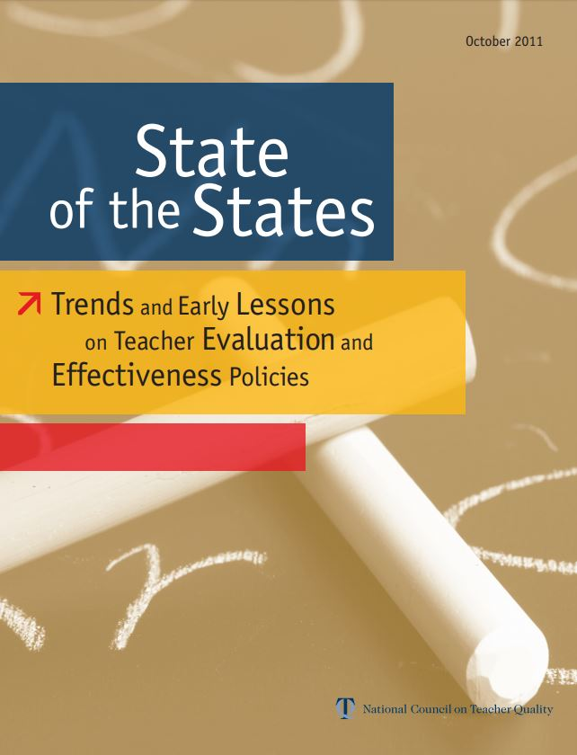 NCTQ Publications State of the States Trends and Early Lessons on