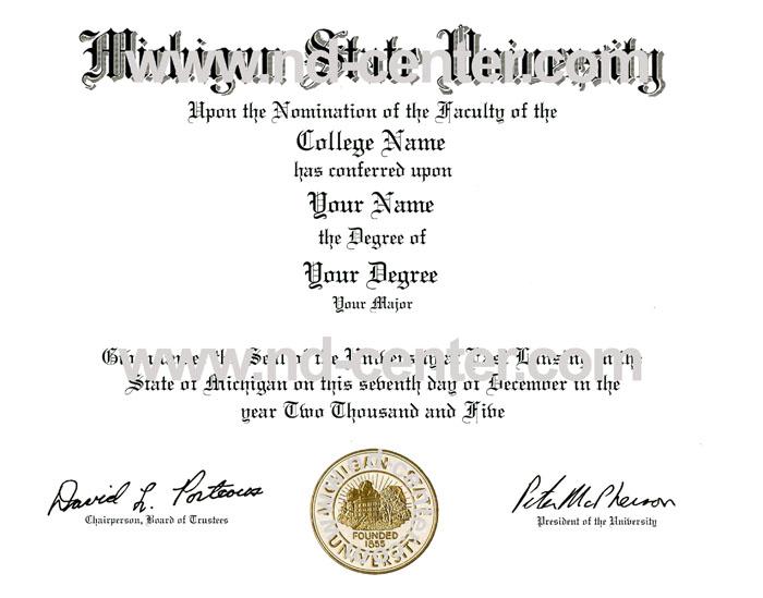 Quality fake diploma samples - sample graduation certificate