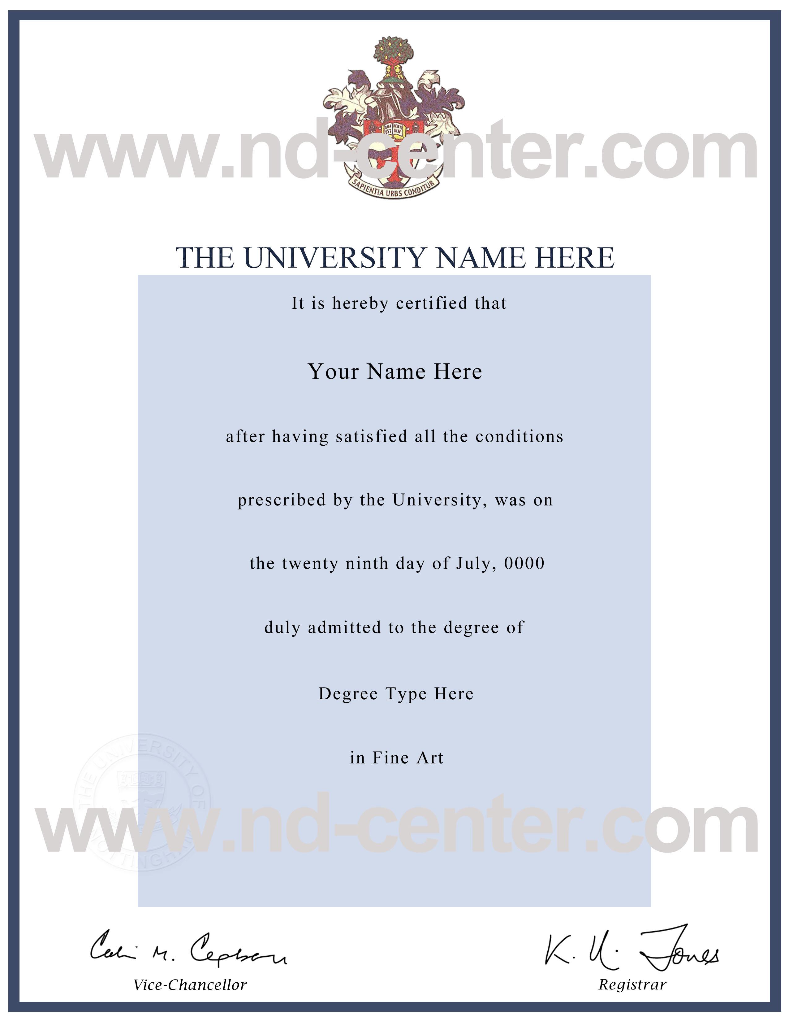 fake ba degree certificate