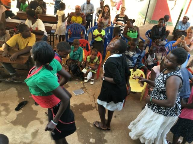 dancing and singing uganda