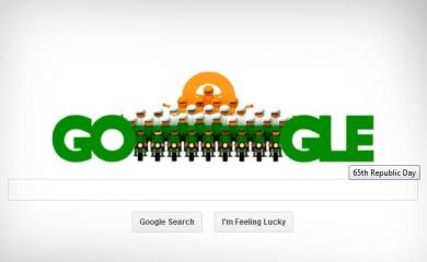 Google doodle celebrates India's 65th Republic Day