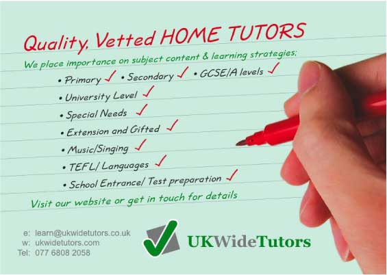 Home Tutoring Flyer Samples Ne14 Design