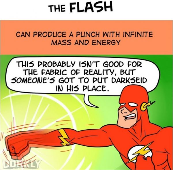 Your Favorite Superheroes Have Ridiculous Super Powers - Neatorama