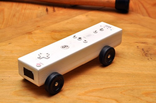 Wiimote Pinewood Derby Car - Neatorama