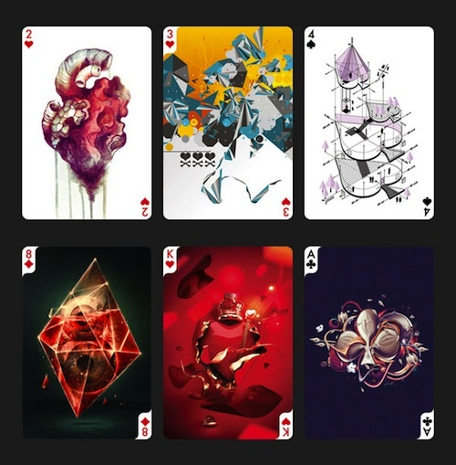 54 Artists Create A Unique Set Of Playing Cards - Neatorama