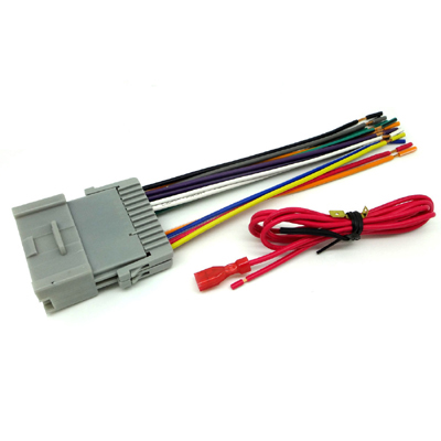 Car Stereo Wiring Harness For GM/Toyota Vehicles NECABLES