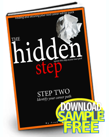 The Hidden Step - Plan Your Career Path - how to plan your career path