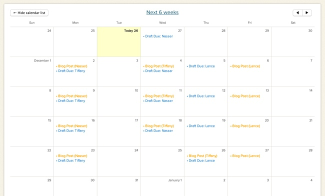 How To Create An Editorial Calendar With Basecamp In 7 Simple Steps