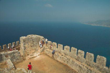 Uitzicht vanaf het kasteel van Alanya (by TimoAndDog)