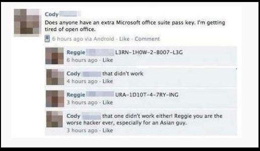 Microsoft Office Suite Pass Key \u2014 Ned Martin\u0027s Amused