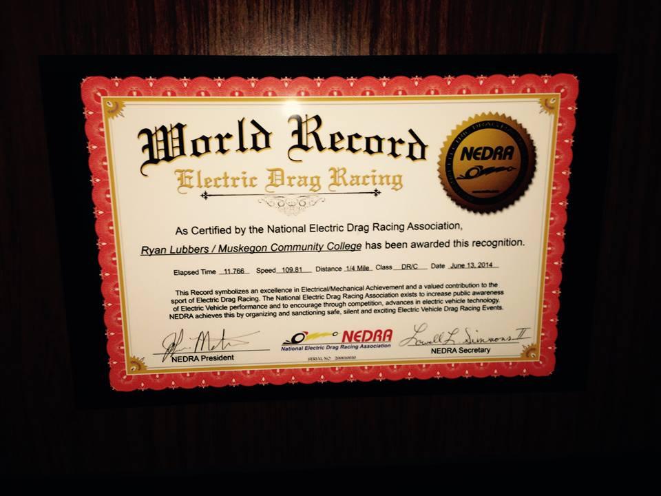 National Electric Drag Racing Association - Merchandise