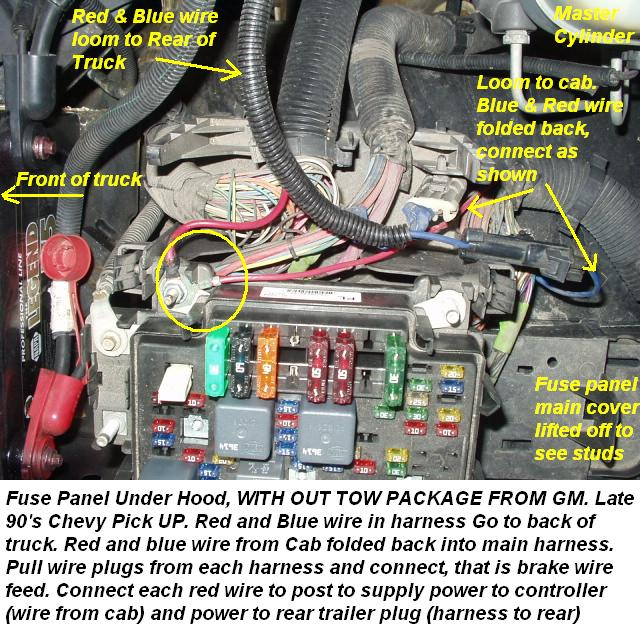 Chevy Silverado Trailer Wiring Harness Wiring Diagram