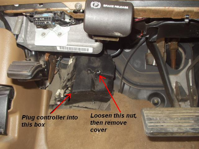 chevy brake controller install, no tow package