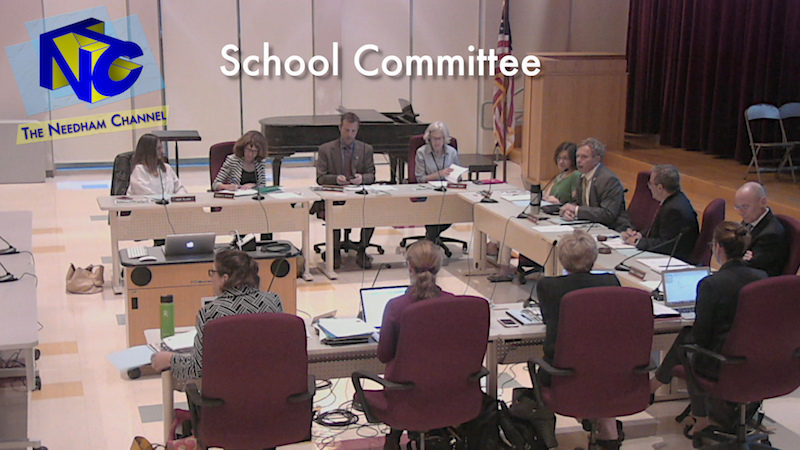 School Committee Meeting Agenda \u2013 March 19 \u2013 The Needham Channel