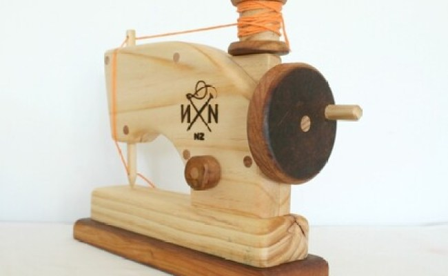 Needle And Nail S Wooden Toy Sewing Machine
