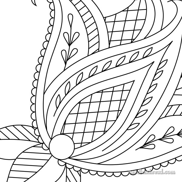 How to Make Printable Hand Embroidery Patterns \u2013 NeedlenThread