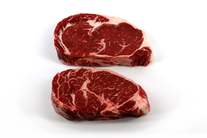 Large Of Beef Rib Steak