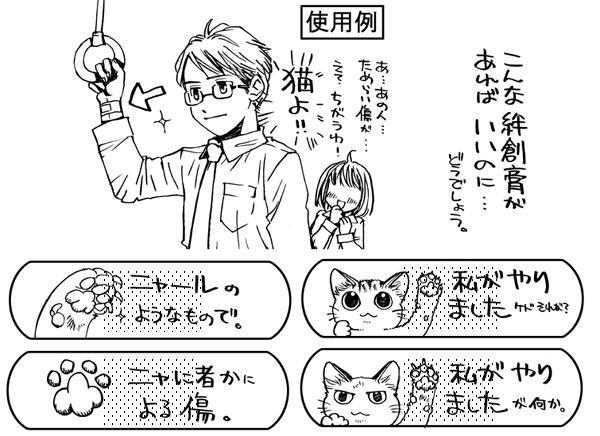 【猫グッズ】これなら猫に引っ掻かれても?漫画家・山野りんりん先生考案「にゃんそうこう」