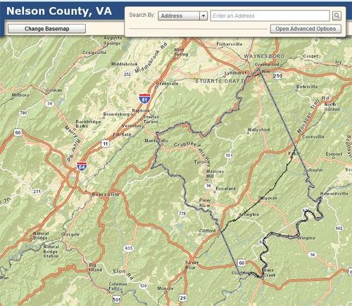 Geographic Information System (GIS) Nelson County