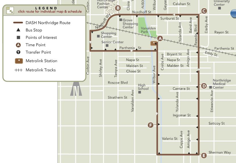 Extend City DASH Bus Service To CSUN – Hearing Saturday, 1 pm in Northridge